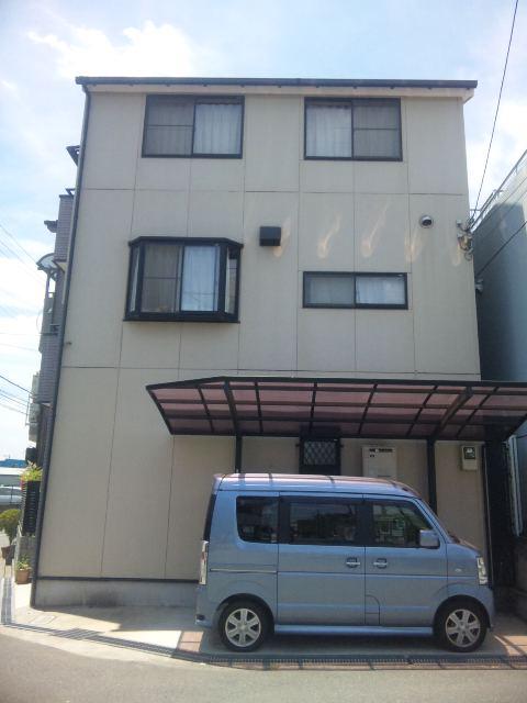 2014年1月 茨木市穂積台A様邸、外壁塗装工事。のサブ画像01