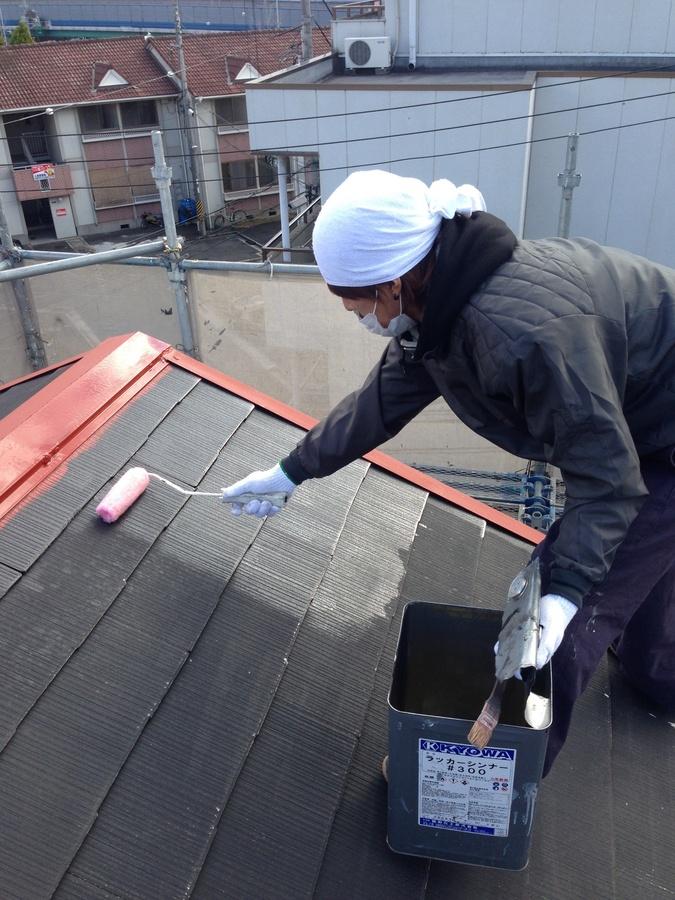 2014年1月 茨木市穂積台A様邸、外壁塗装工事。のサブ画像05