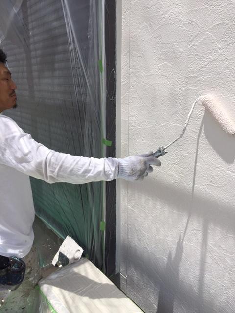 高槻市T様邸 一軒家 壁塗り替え 雨漏り サイディング 屋根塗装のサブ画像03