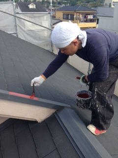 2014年5月 高槻市高垣町M様邸 外壁・屋根塗装工事。のサブ画像02