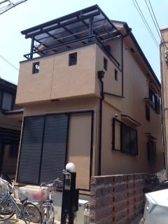 2014年5月 高槻市高垣町M様邸 外壁・屋根塗装工事。のサブ画像01