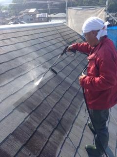 生駒市K様邸 外壁・屋根塗装工事。のサブ画像02