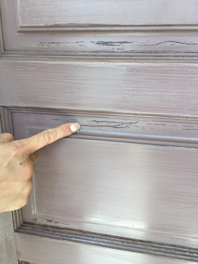 正面扉の改修工事  木製扉の修繕のサブ画像01