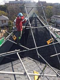屋根塗装料金