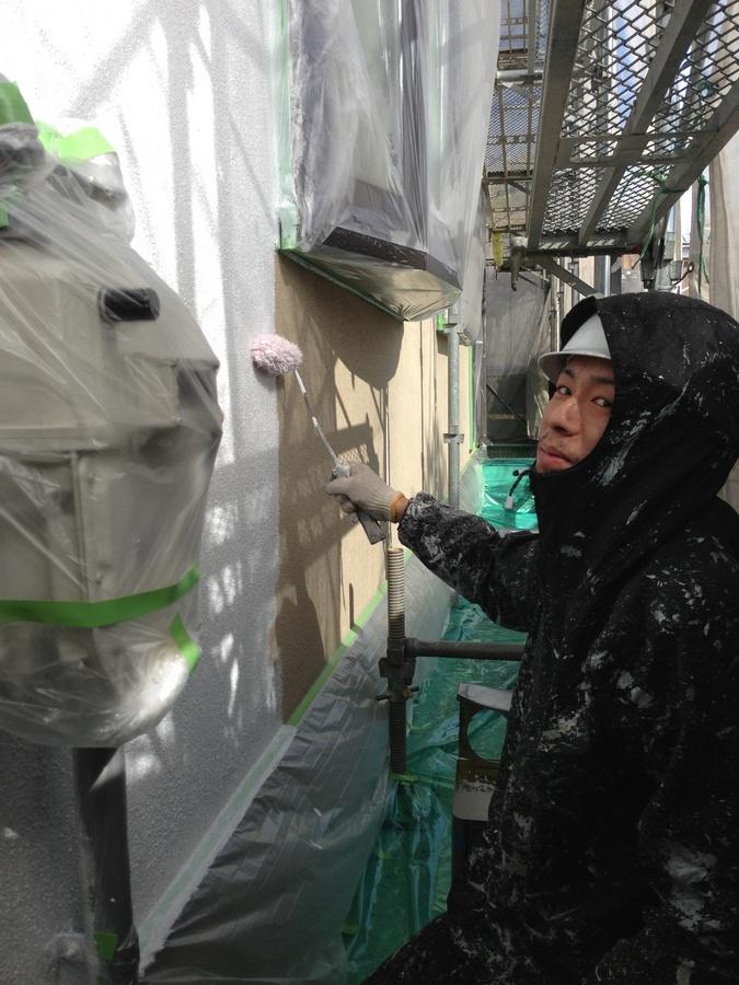 1・19草津市 堀井様外壁下塗り .jpg