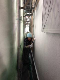 1205豊中市西口様 外壁塗装下塗り.jpeg