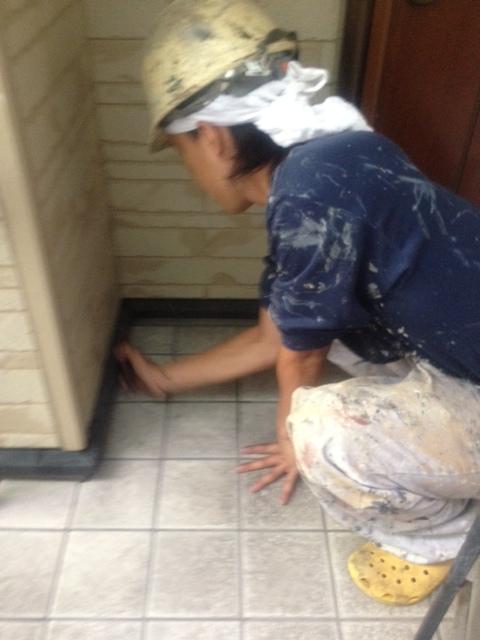 2012.8.31都島区 岩崎様 鉄部ケレン.JPG