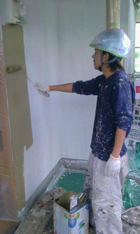 2012-10-29 09.04.05豊中市渡辺様 上塗り1.jpg