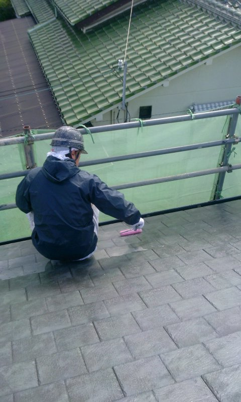 2012-11-15 豊中市荒川様 屋根下塗り.jpg