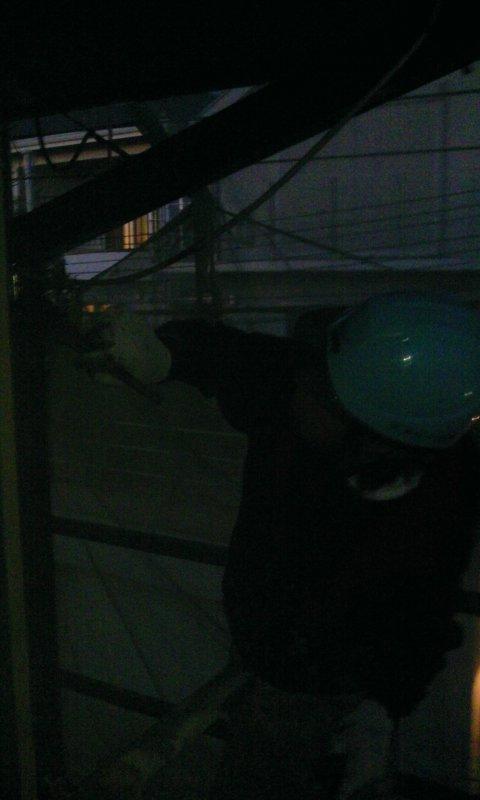 2012-11-16 豊中市荒川様 樋上塗り2.jpg
