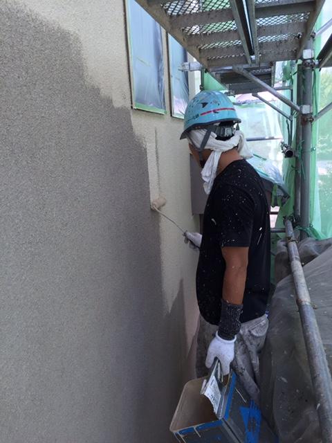 2016.9.3吹田市 中園様邸 外壁下塗り.JPG