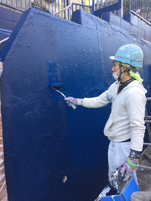 2017.3.18外塀上塗り2回.JPG