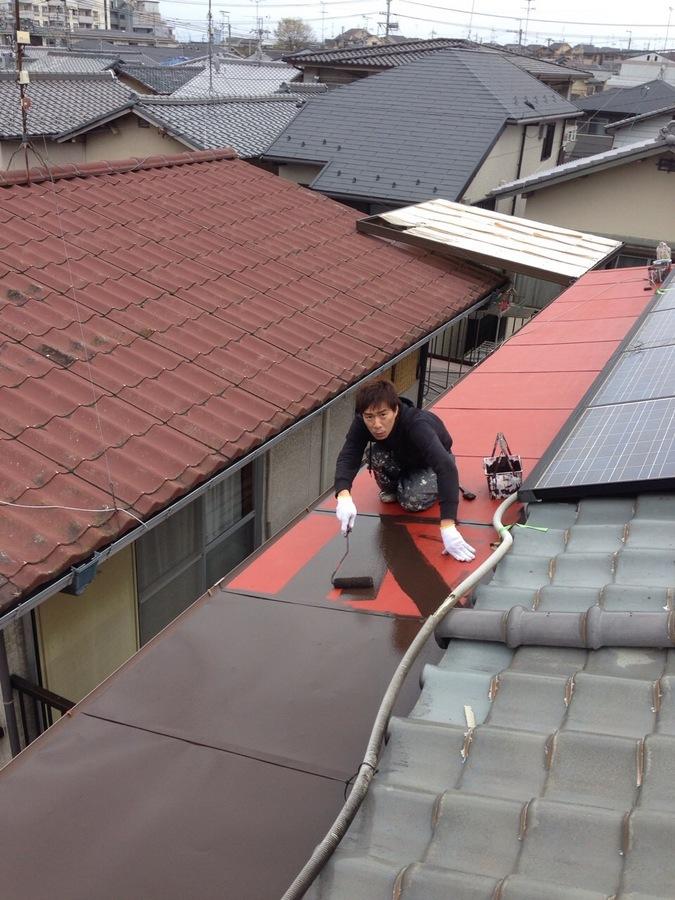 4.7京都 高井様邸 上塗り.JPG