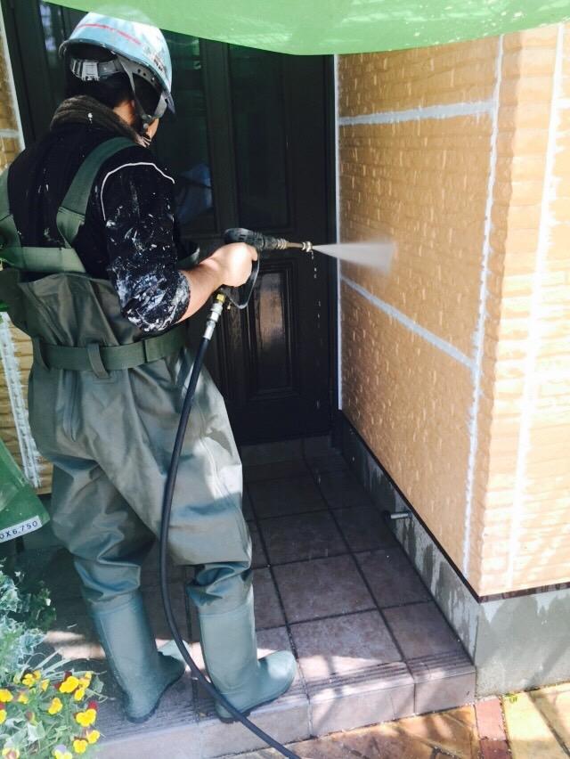 5.21箕面市 古関様邸 高圧洗浄.JPG