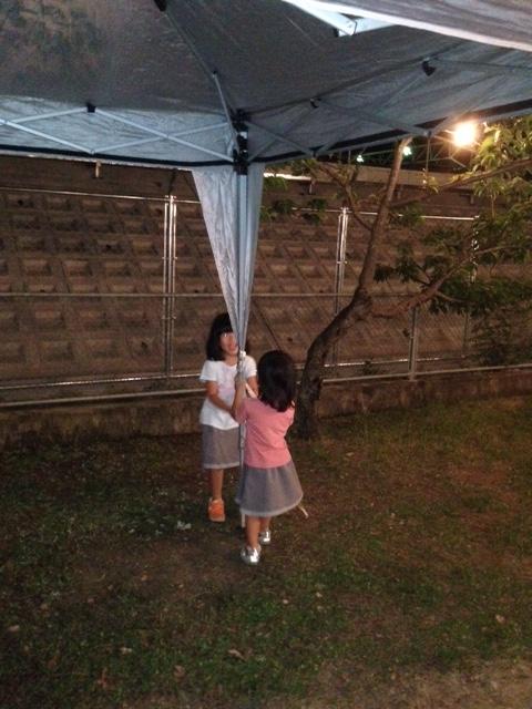 8.22高垣町 夏祭り設置3.JPG