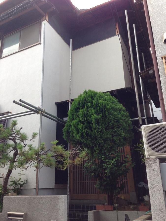8.5茨木市鮎川 山崎様 足場組み.jpg
