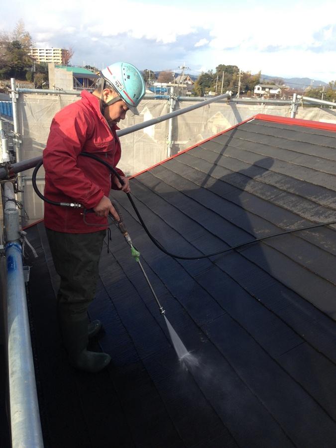 2014年1月 茨木市穂積台A様邸、外壁塗装工事。のサブ画像04