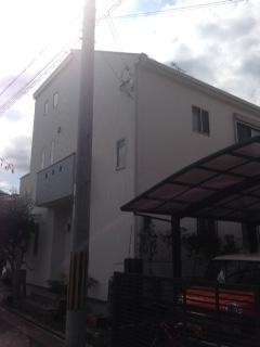 生駒市K様邸 外壁・屋根塗装工事。のサブ画像01