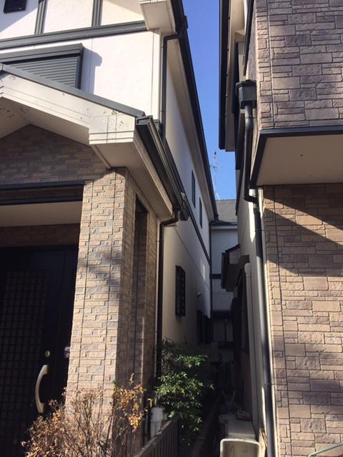 高槻市T様邸 一軒家 壁塗り替え 雨漏り サイディング 屋根塗装のサブ画像02