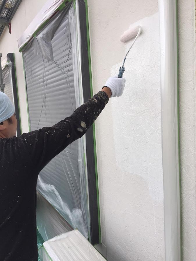 高槻市T様邸 一軒家 壁塗り替え 雨漏り サイディング 屋根塗装のサブ画像07