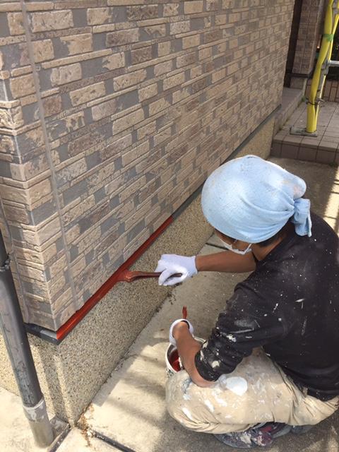 高槻市T様邸 一軒家 壁塗り替え 雨漏り サイディング 屋根塗装のサブ画像05
