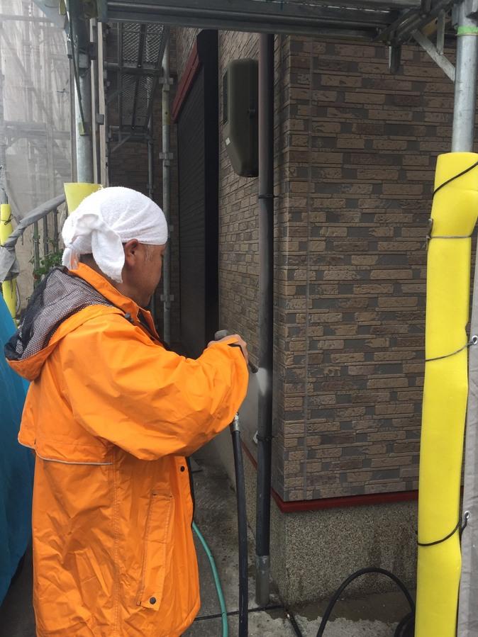 高槻市T様邸 一軒家 壁塗り替え 雨漏り サイディング 屋根塗装のサブ画像04