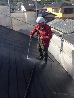 2014年5月 高槻市高垣町M様邸 外壁・屋根塗装工事。のサブ画像03