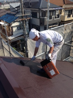 2014年5月 高槻市高垣町M様邸 外壁・屋根塗装工事。のサブ画像06